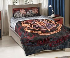 Bedroom Decor Ideas and Designs: Harry Potter Themed Bedroom Decor Ideas