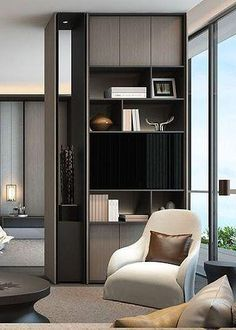 Modern Interior, Home Interior Design, Design Interiors, Home Office Design, House Design, Garage Design, Shelving Design, Deco Design, Design Design
