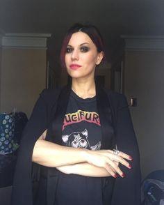Women in Metal! They Rock! Vinnie Paul, Cristina Scabbia, Women Of Rock, Gothic Metal, Rocker Chick, Music Magazines, Metal Girl, Metal Bands, Heavy Metal