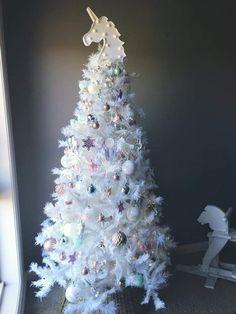 Beautiful Unicorn theme tree by Aussie mum Stacey Calder.