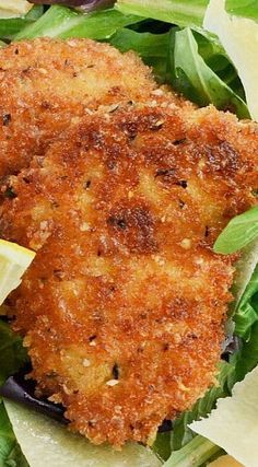 Lemon Parmesan Chicken ~ It is incredible!