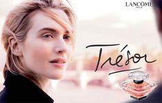 Affiche parfum Trésor de Lancome - Kate Winslet