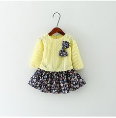 Awesome Summer Baby Girl Dress 2016 New Princess Dress Baby Girls Party for Toddler Girl Dresses Clothing Long sleeve tutu Kids Clothes - $29.22 - Buy it Now!