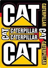 Caterpillar Cat Vinyl Decal Sheet 5.5 X 7.3  Logo Emblem Equipment Sticker 2