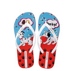 12e51c6ac Hotmarzz Women Home Flip Flops Puppy Dog Print Thong Sandals Shoes Ladies  Summer Beach House Flip-flop Hosue Slippers