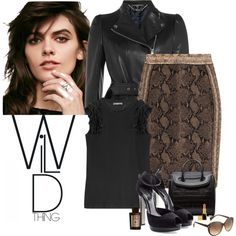 How To Wear Alexander McQueen - Wild Thing Outfit Idea 2017 - Fashion Trends Ready To Wear For Plus Size, Curvy Women Over 20, 30, 40, 50