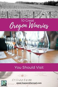 Oregon wine country is home to some wonderful vineyards. If you visit Oregon's wine country, be sure to check out these 10 great wineries.