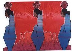 Amado Maurillo Pena Jr. Serigraph - 1988