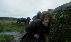 Jamie spends a lot of time sneaking up on people! #DianaGabaldon #Outlander