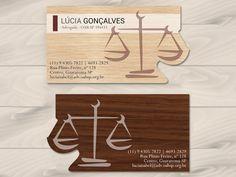 Cartão de Visita - Advogada (business card)