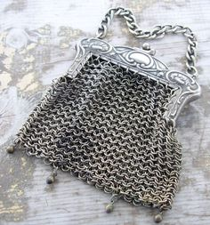 chainmail purse