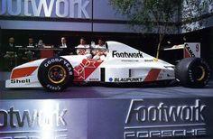 Michele Alboreto / Alex Caffi (Footwork-Porsche V12, FA12 Launch). 1991