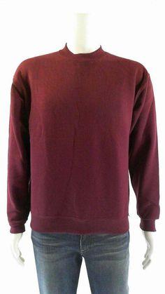 6fb27911b Russell Athletic Unisex Boys size M Fleece Crew Sweatshirt Burgundy Solid  CHOP #fashion #clothing