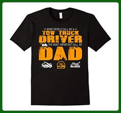 Mens People Call Me A Tow Truck Driver Dad XL Black - Relatives and family shirts (*Amazon Partner-Link)