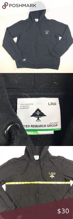 LRG Lifted Research Group Men/'s $69 Navy Stripe Pull Over Sweater Size 2XL