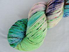 Hand dyed Sock Yarn Superwash Merino and Nylon