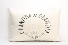 Give this pillow as a gift to excited grandparents-to-be!