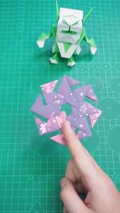 Diy Crafts Hacks, Diy Crafts For Gifts, Diy Arts And Crafts, Creative Crafts, Cool Paper Crafts, Paper Crafts Origami, Instruções Origami, Anime Crafts, Origami Tutorial