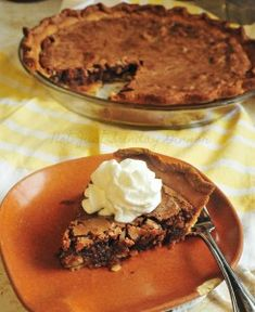Japanese Chocolate PieNot Just Sunday Dinner Pie Craft, Japanese Chocolate, Sweet Pie, Chocolate Pies, Coconut Recipes, Stick Of Butter, Cakes And More, Pecans, Food To Make