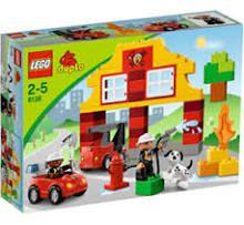 Brandweer duplo lego