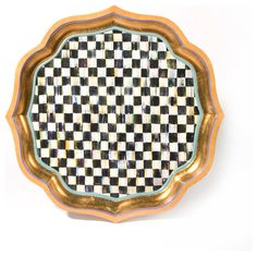 """Courtly Check Serving Tray - 22"""" 