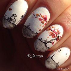Autumn nail idea