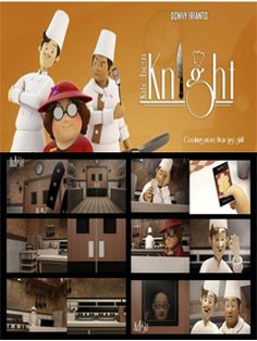 Ulasan film pendek Kitchen Knight karya Donny Irianto.