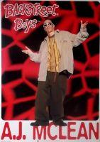 BACKSTREET BOYS - Poster - 16 - A.J.McLean - 1996