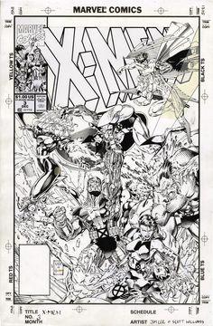 Comic Book Pages, Comic Book Artists, Comic Book Covers, Comic Artist, Comic Books Art, Jim Lee Art, Batman Drawing, Black And White Comics, Vintage Comics