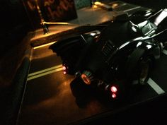 Tail Light View 1989 Batmobile by Martin's Models