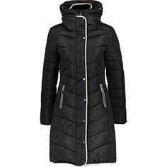 Black Down Padded Coat Berlin Christmas, Black Down, Winter Jackets, Coat, Fashion, Winter Coats, Moda, Sewing Coat, Winter Vest Outfits
