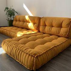 Floor Cushion Couch, Floor Couch, Floor Cushions, Floor Mattress, Daybed Mattress, Sofa Cushions, Custom Cushions, Decorative Cushions, Shabby Chic Sofa