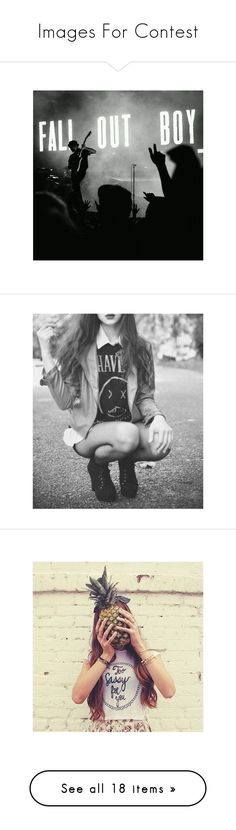 """""""Images For Contest"""" by sammydoglover7 ❤ liked on Polyvore featuring pictures, instagram, b&w, fandom related, music, black and white, icons, photos, tumblr and backgrounds"""