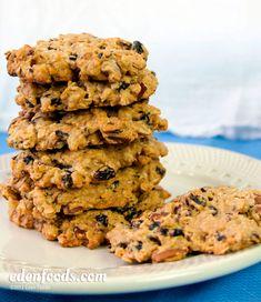Oatmeal Cherry Pecan Cookies #EdenFoods