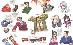 Phoenix Doodles | Phoenix Wright: Ace Attorney | Know Your Meme