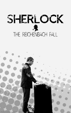The Reichenbach fall Benedict Cumberbatch Sherlock, Sherlock Holmes, The Reichenbach Fall, 221b Baker Street, Say More, Make You Cry, John Watson, 30 Day Challenge, Johnlock