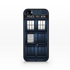 TIP5-022 Doctor Who, Tardis, Police Box Pattern Plastic Hard Case for iPhone 5/5S – EUR € 2.75