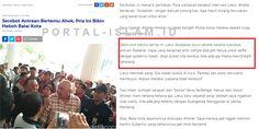DETIK: Lieus Diusir Karena Serobot Antrean Zeng Wei Jian: Siapa Juga yang Mau Ngantre Buat Selfie Sama Gubernur KALAH?  [PORTAL-ISLAM]Sebuah insiden mengejutkan terjadi di Balaikota DKI Jakarta kemarin Senin 8 Mei 2017. Dilansir dari portal media online detik.com Aktivis Tionghoa Lieus Sungkharisma diusir dari Balaikota DKI Jakarta oleh para pendukung petahana Gubernur DKI Basuki Tjahaja Purnama (Ahok). Lieus diusir karena dianggap telah menyerobot antrean warga yang ingin bertemu dan…