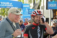 Actor Patrick Dempsey and announcer and former pro cyclist Bob Roll share a laugh prior to the Chairman's Ride | Flickr - Photo Sharing| Flickr - Photo Sharing! Description from flickr.com. I searched for this on bing.com/images