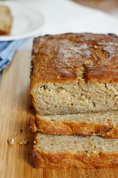 Lighter Zucchini Bread - Fabtastic Eats