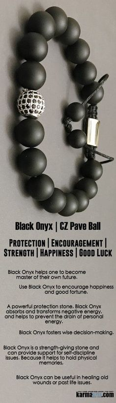 #BEADED #Yoga #BRACELETS ♛ Use #Black #Onyx to encourage #happiness and good #fortune. It is a #strength-giving #stone. #Survivor #Chakra #gifts #Stretch #Womens #jewelry #gifts ♛ #Survivor #tony #Robbins #Eckhart #Tolle #Crystals #Energy #gifts #Handmad