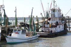 Boats at Dockside