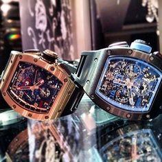 || Crazy pair of Richard Mille watches ||  #richardmille