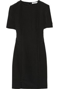 T by Alexander Wang Stretch-crepe dress | NET-A-PORTER