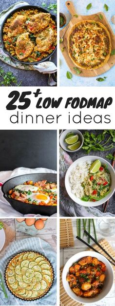 25 Low FODMAP Diet dinner recipes - nearly a month's worth of dinner ideas to help you figure out what to make for dinner. 25 Low FODMAP Diet dinner recipes - nearly a month's worth of dinner ideas to help you figure out what to make for dinner. Dieta Fodmap, Dieta Paleo, Diet Dinner Recipes, Paleo Dinner, Health Dinner, Lunch Recipes, Fodmap Recipes, Healthy Recipes, Recipes For Ibs