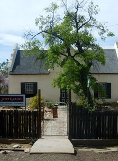 Soet Karoo - the only winery in the main street of the village of Prince Albert
