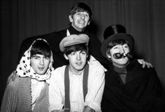 Richard Starkey, George Harrison, Paul McCartney, and John Lennon (The Beatles Christmas Show)