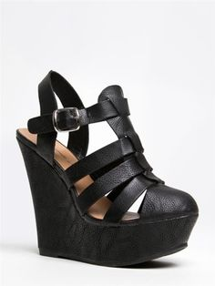 02942a108f98 New Arrivals from ZOOSHOO! Closed Toe WedgesCute WedgesNew ShoesCrazy ...