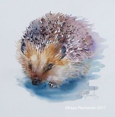 Animals | Kaye Parmenter #watercolorarts