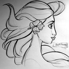 Maybe Moana Sketch - From Elsa to Moana by Nyko PK16